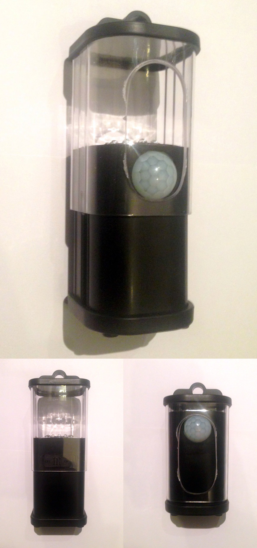 Modified camping lamp